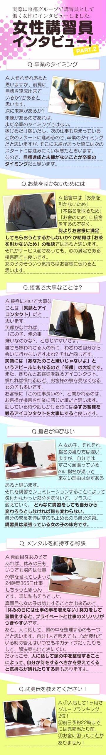 京都グループ女性講習員の写真2